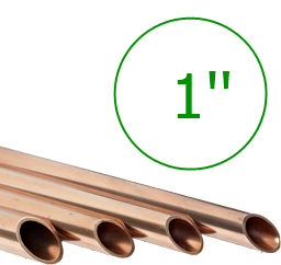 1'' Труба медная 25,4 мм (толщ. 1,14мм) * 3м