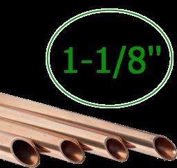 1-1/8'' Труба медная 28,58 мм (толщ. 1,27мм) * 3м